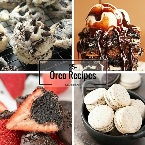 25+ Oreo Recipes | NoBiggie.net