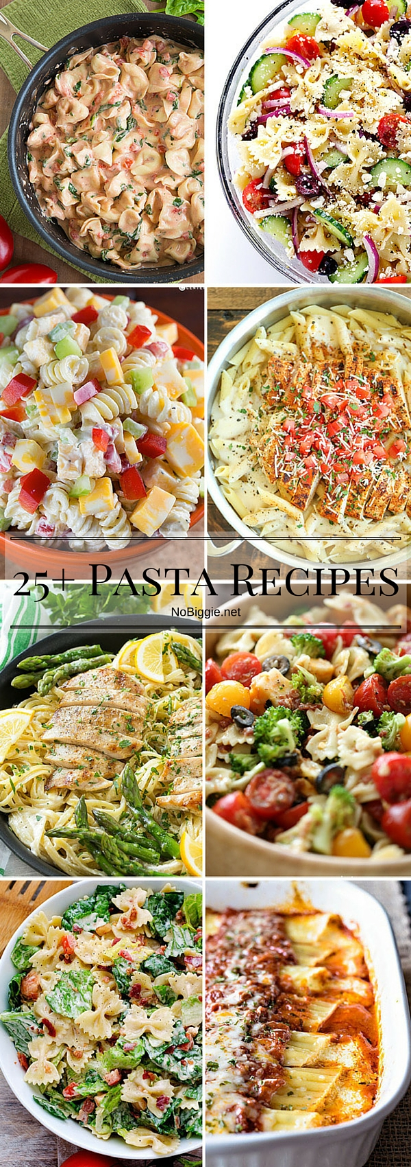 Pasta Recipes - easy dishes to get together quick and there are so many ways to switch it up. #pasta #pastarecipes #easydinners #dinnerrecipes #dinner