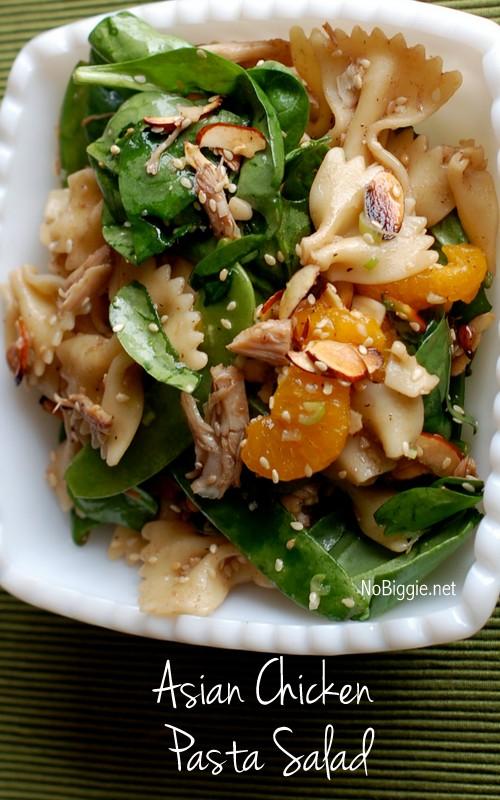 Asian Chicken Pasta Salad | 25+ Pasta Recipes