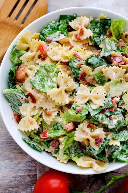BLT Pasta Salad | 25+ Pasta Recipes