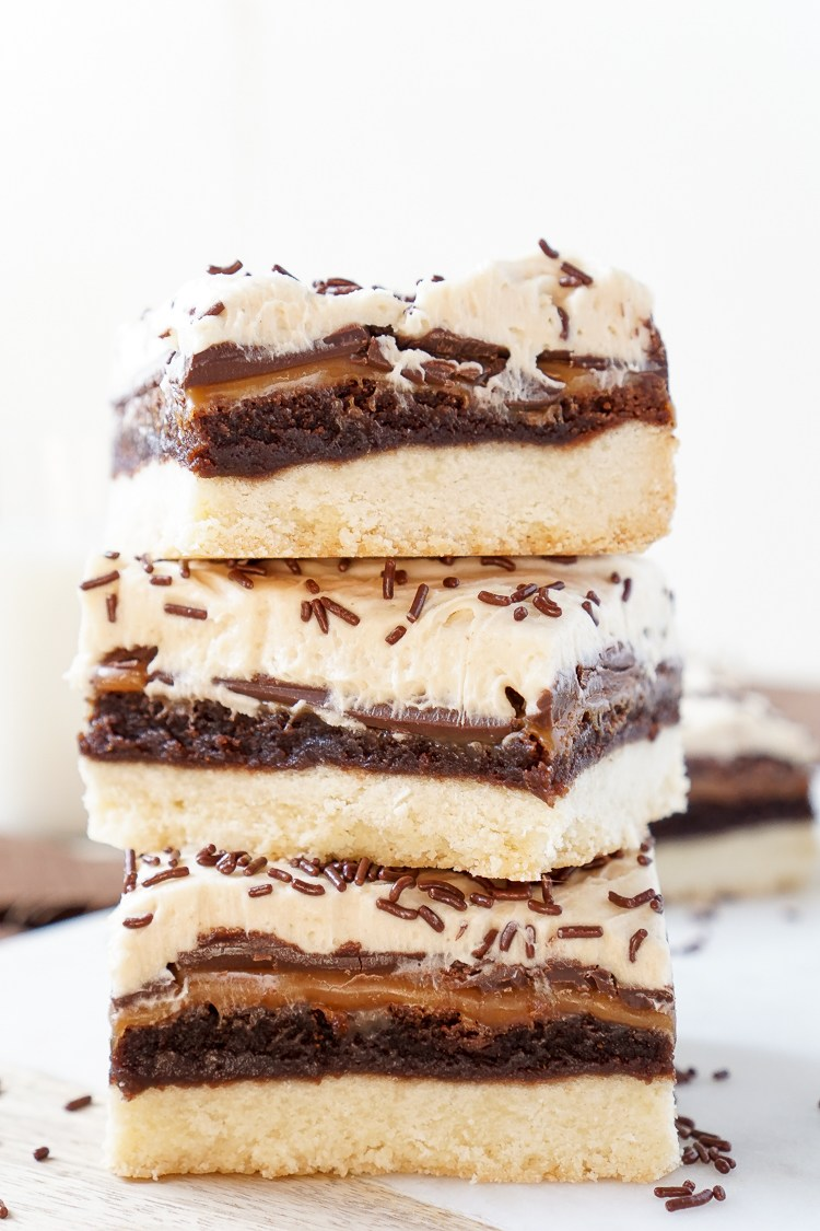 Billionaire Bars | 25+ MORE Peanut butter and Chocolate desserts