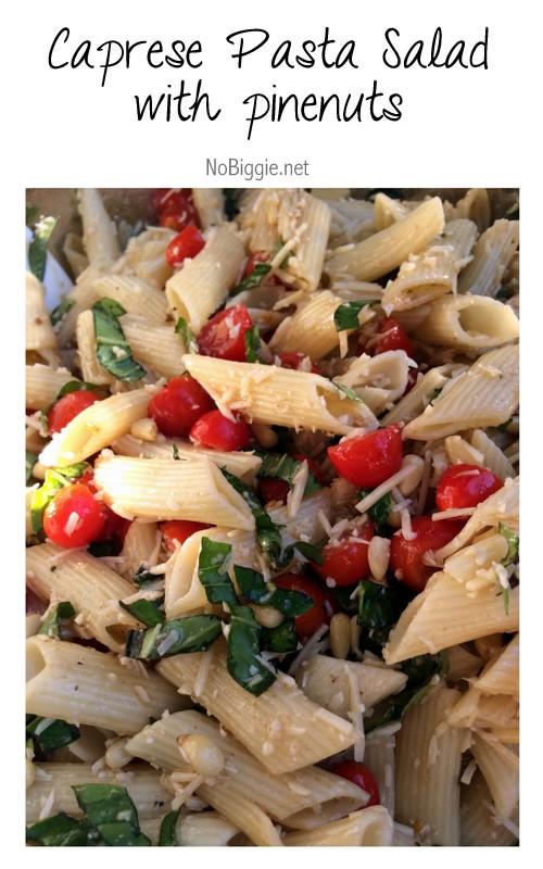 Caprese Pasta Salad | 25+ Pasta Recipes