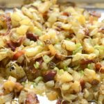 Cheese and bacon crispy potatoes | they taste just like Outback Steak House Cheese Fries | recipe on NoBiggie.net