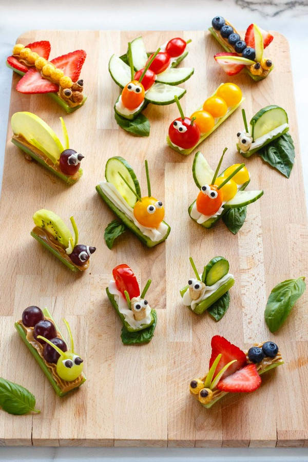 25+ Cute and Healthy Snack Ideas | NoBiggie