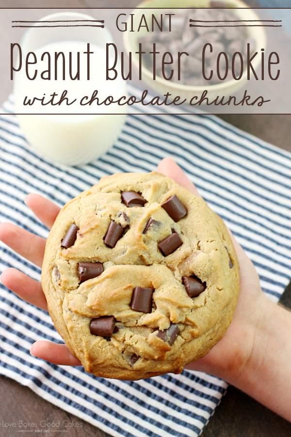 GIANT Peanut Butter Cookie with chocolate chunks | 25+ MORE Peanut butter and Chocolate desserts