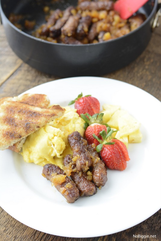 Hawaiian Breakfast Sausage   25+ Pineapple Recipes