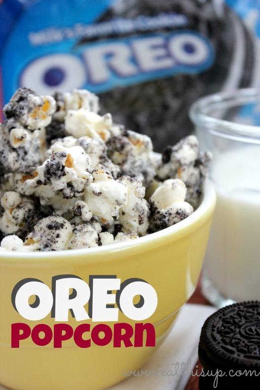 Oreo Popcorn | 25+ Oreo Recipes