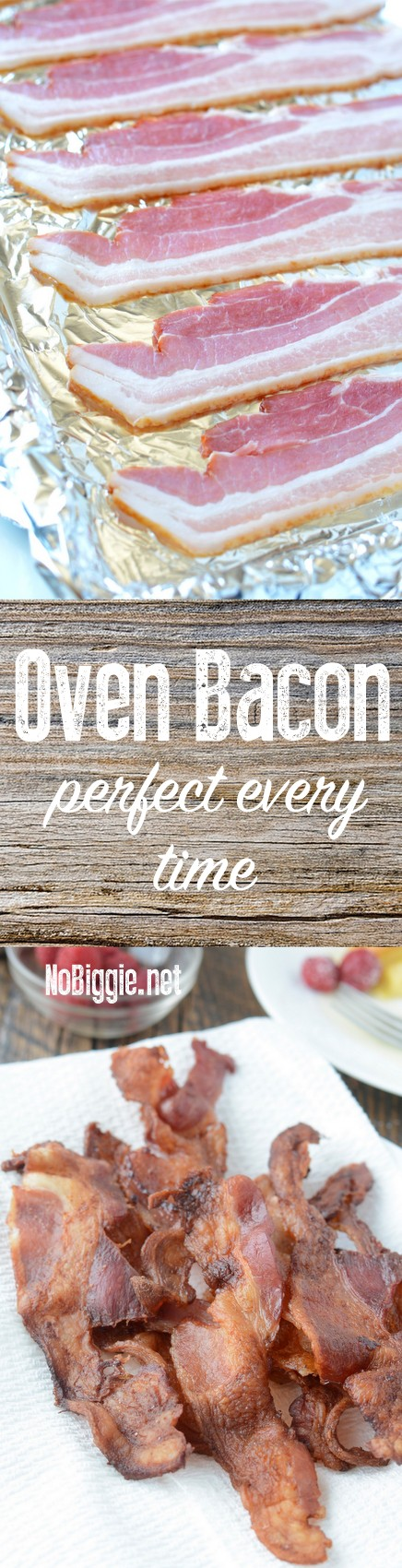 Oven Bacon | NoBiggie.net