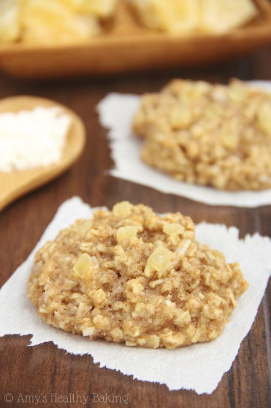 Pineapple Coconut Oatmeal Cookies   25+ Pineapple Recipes