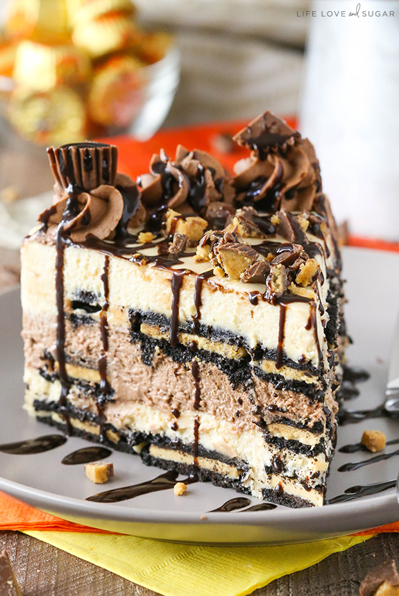 Reese's Peanut Butter Chocolate Icebox Cake | 25+ MORE Peanut butter and Chocolate desserts