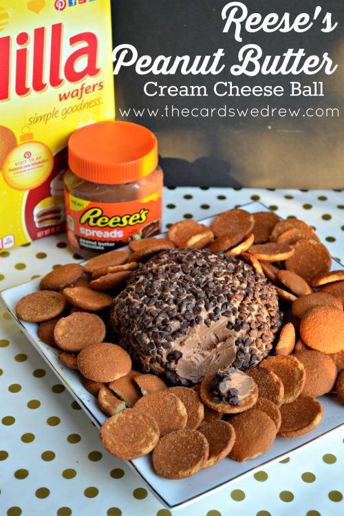 Reese's Peanut Butter Cream Cheese Ball | 25+ MORE Peanut butter and Chocolate desserts