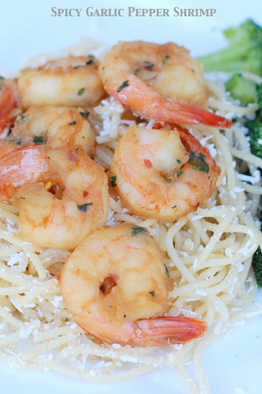 Spicy Garlic Pepper Shrimp | 25+ Pasta Recipes
