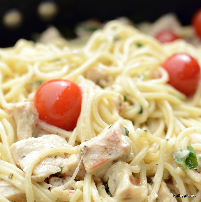 Summer Spaghetti   25+ Chicken Recipes