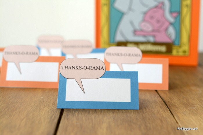 ThanksOrama printable thank you notes and tags | NoBiggie.net