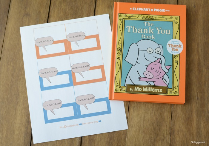 The Thank you Book | NoBiggie.net