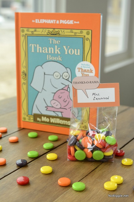 The ThankYou Book | free printable | NoBiggie.net