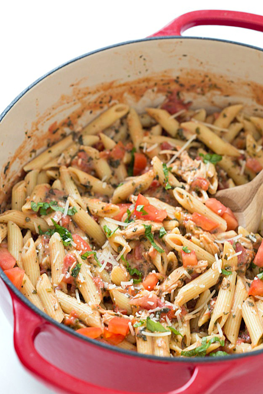 Tuscan Chicken with Penne Pasta | 25+ Pasta Recipes