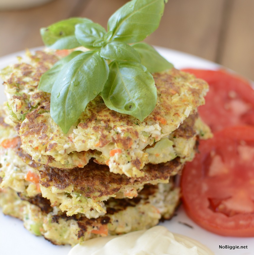veggie fritters the best way to use up all your fresh veggies | NoBiggie.net