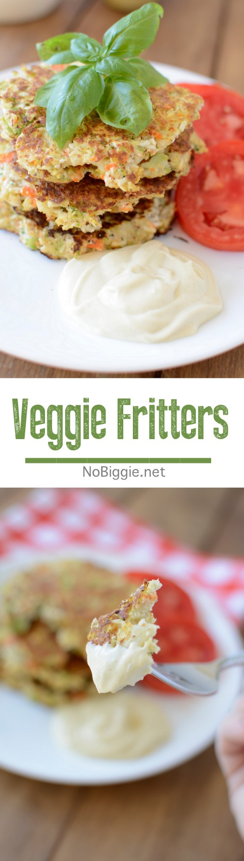 Veggie Fritters - the perfect way to use up the not so pretty ends of broccoli, cauliflower and carrots. #Veggies #veggiefritters #fritters #vegetables #broccoli #carrots #cauliflower