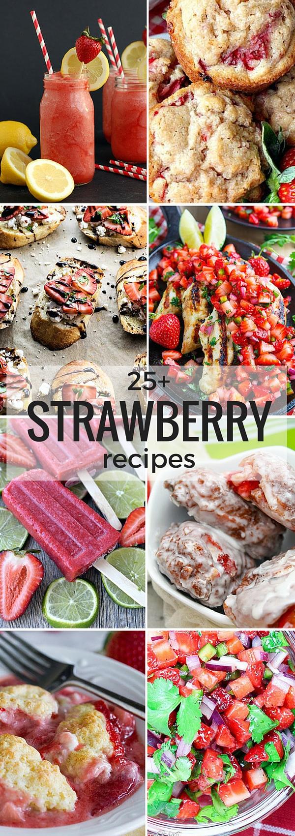 25+ Strawberry Recipes | NoBiggie.net
