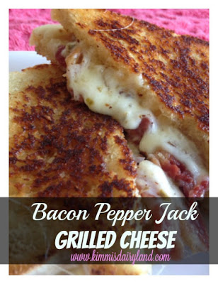 Bacon Pepper Jack Grilled Cheese | 25+ Grilled Cheese Recipes