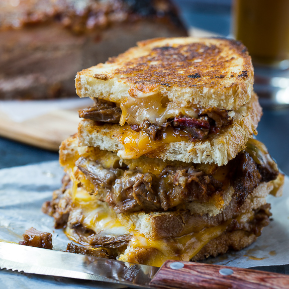 Brisket Grilled Cheese | 25+ Grilled Cheese Recipes