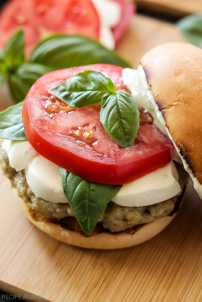 Caprese Chicken Burgers | 25+ Burger recipes