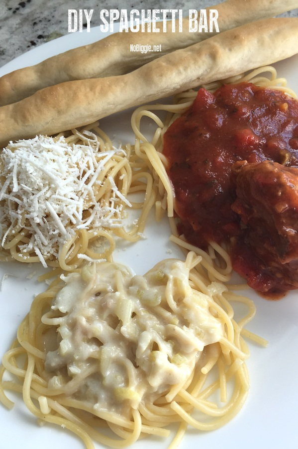 DIY Spaghetti Bar