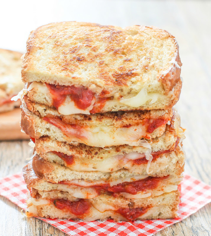 Pizza Grilled Cheese | 25+ Grilled Cheese Recipes