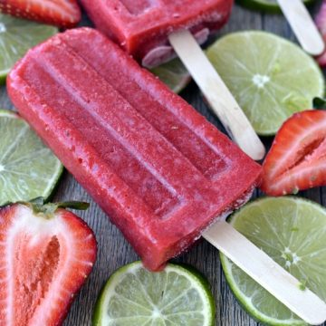 Strawberry Popsicles | 25+ Strawberry Recipes