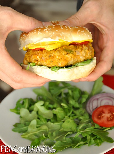 Sweet Potato Chickpea Burger | 25+ Burger recipes