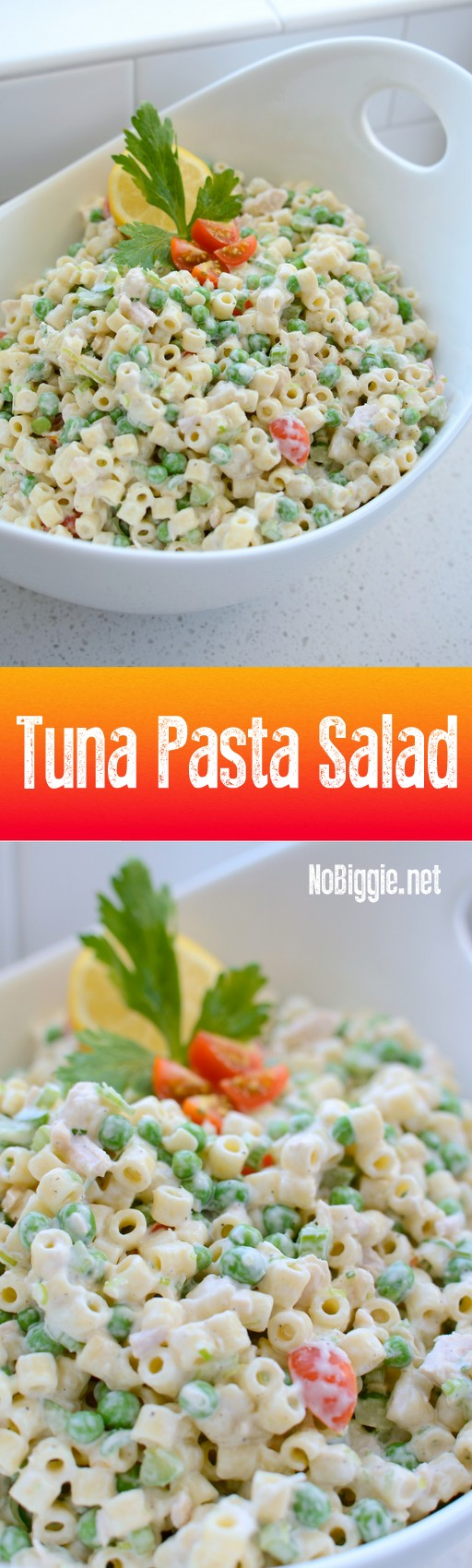 Tuna Pasta Salad - a delicious side salad you can bring to your next BBQ. #tunasalad #tunapastasalad #pastasalad #bbqfoods #summerbbqs #summermeals