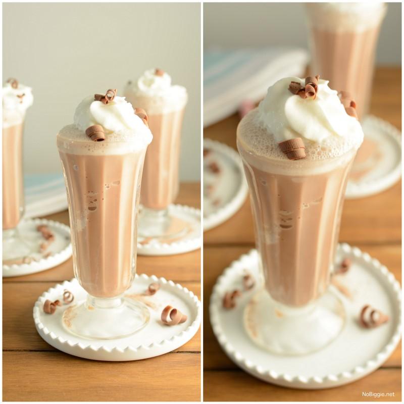 frozen hot chocolate | NoBiggie.net