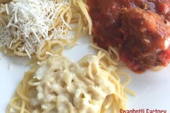 Spaghetti Bar at home