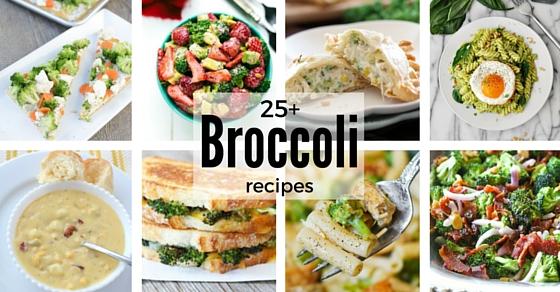 25+ Broccoli Recipes | NoBiggie.net