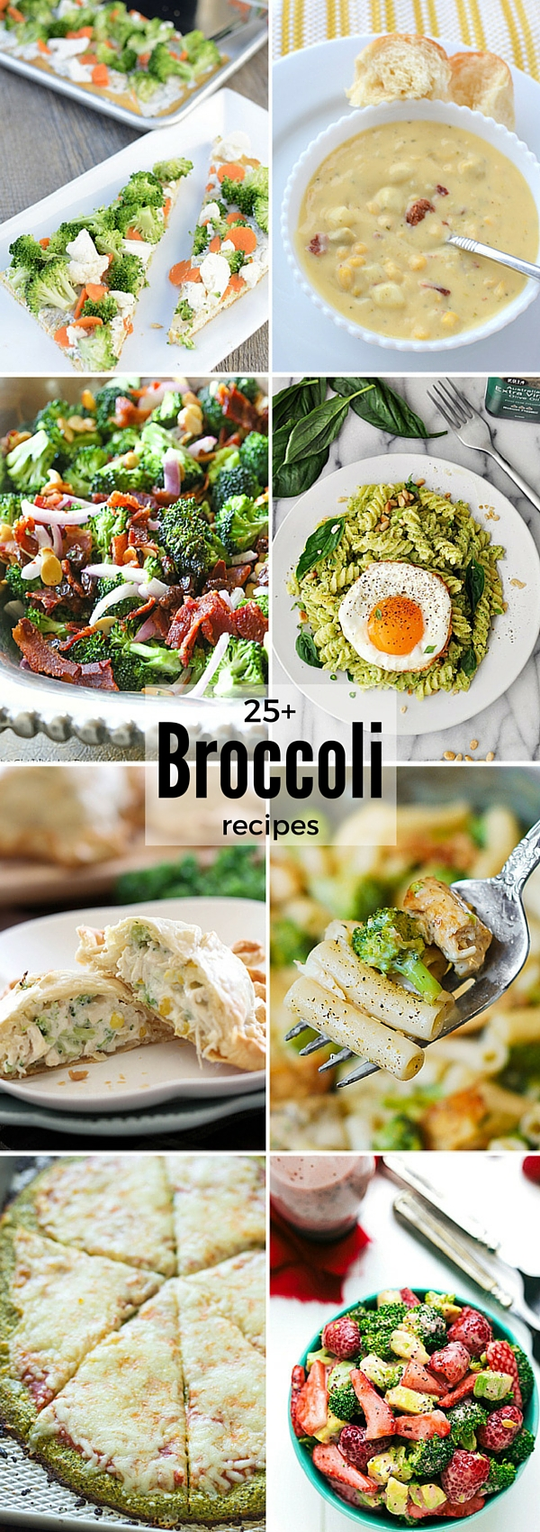 Broccoli Recipes - New Delicious recipes that will have your family eating broccoli. #broccoli #broccolirecipes #dinnerideas #dinnerrecipes