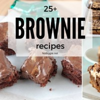 25+ Brownie recipes