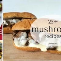 25+ mushroom recipes