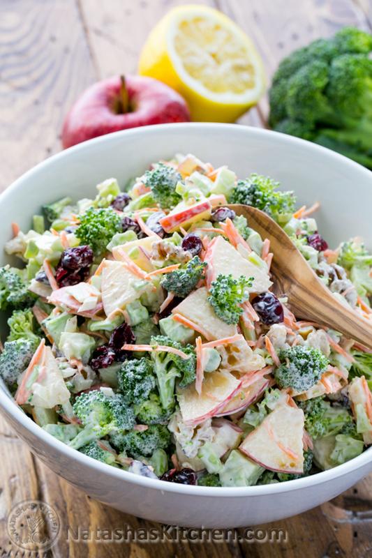 Broccoli & Apple Salad | 25+ Broccoli Recipes