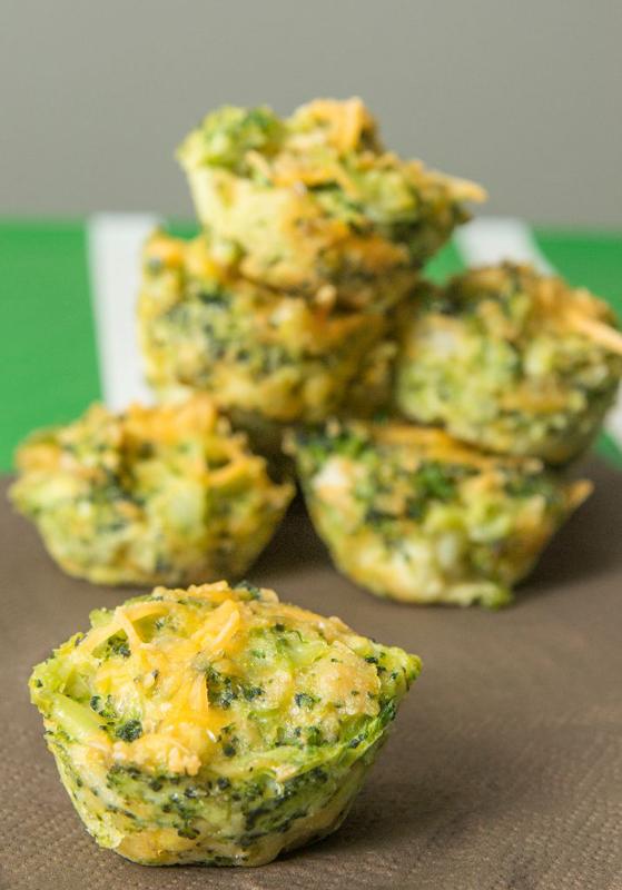 Broccoli Cheese Bites | 25+ Broccoli Recipes