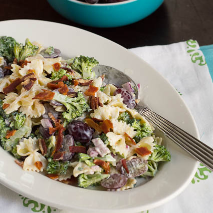 Broccoli Grape & Pasta Salad | 25+ Broccoli Recipes