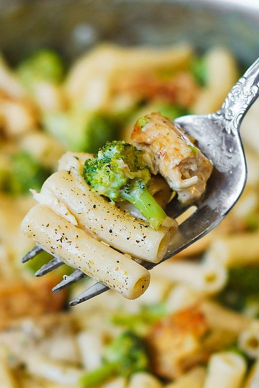 Chicken Broccoli Alfredo | 25+ Broccoli Recipes