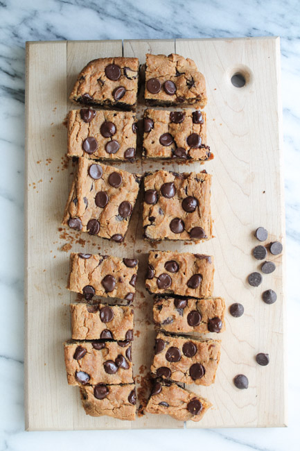 Chickpea Cookie Bars | 25+ Chickpea Recipes