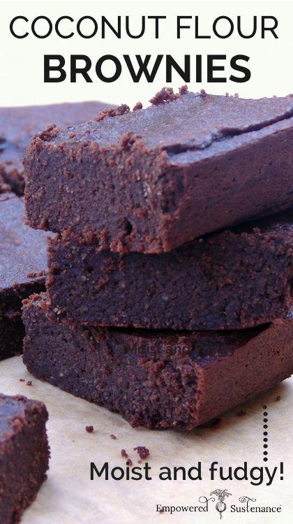 Coconut Flour Brownies | 25+ Brownie recipes