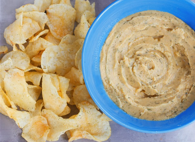 Cool Ranch Hummus | 25+ Chickpea Recipes
