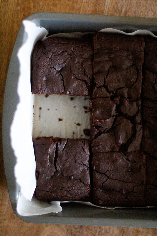 Dark Chocolate Chickpea Brownies | 25+ Chickpea Recipes
