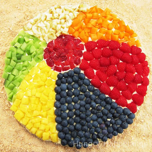 Fruit Beach Ball | 20+ Cute Fruit & Veggie Trays