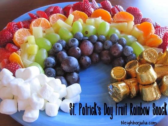 Fruit Rainbow Snack | 20+ Cute Fruit & Veggie Trays