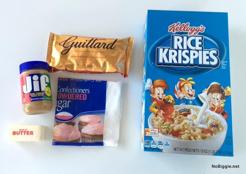 Ingredients for Peanut Butter Balls | NoBiggie.net