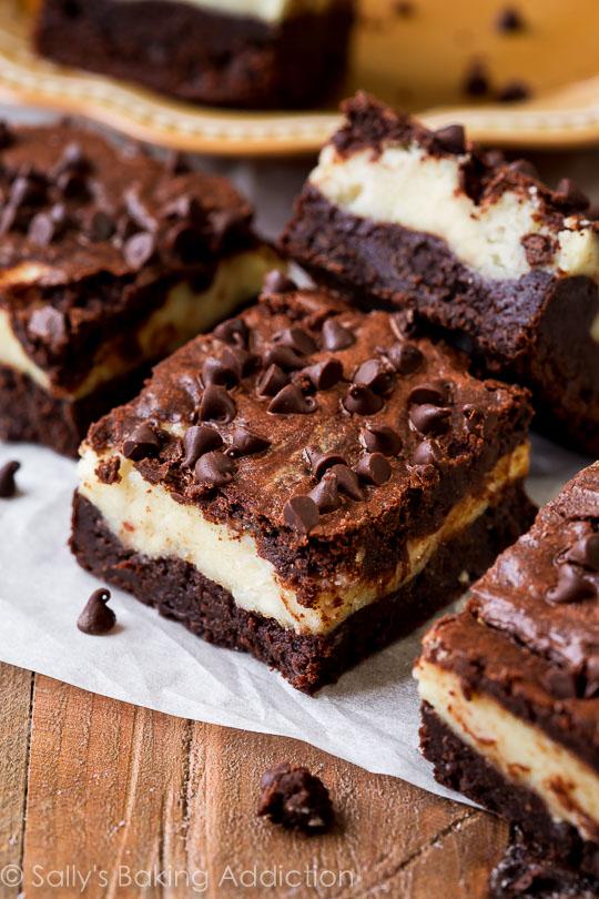 Mocha Cheesecake Brownies | 25+ Brownie recipes